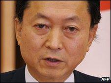 Japanese Prime Minister Yukio Hatoyama