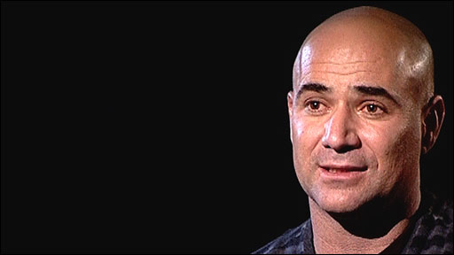 Andre Agassi talks about his failed drug test