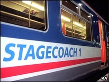 Stagecoach train