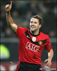 Manchester United striker Michael Owen