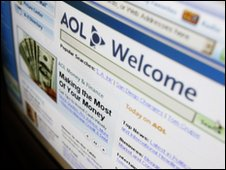 AOL home page