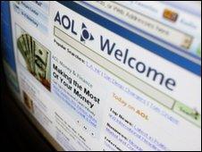 AOL home page