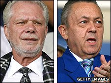 David Gold (left) and David Sullivan