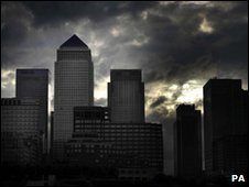 Canary Wharf skyline