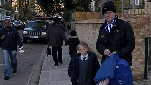 Toby Young and children