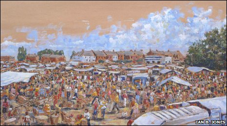 Wrexham Beast Market by Ian B. Jones