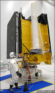 British military satellite Skynet 5C (Arianespace)