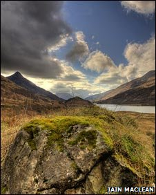 Loch Leven. COPYRIGHT: IAIN MACLEAN