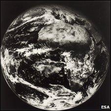 Meteosat-1 image (Esa)