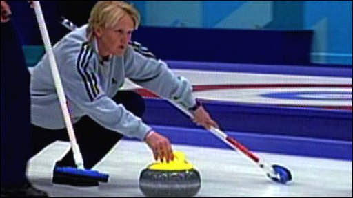 Rhona Martin and the Great Britain curling team on their way to gold in the 2002 Salt Lake City Winter Olympics.