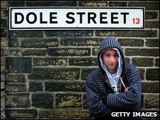 Young person on Dole Street