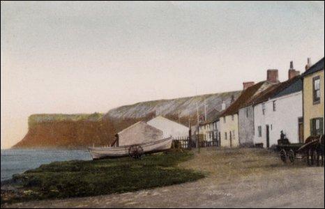 Old Saltburn, 1905.