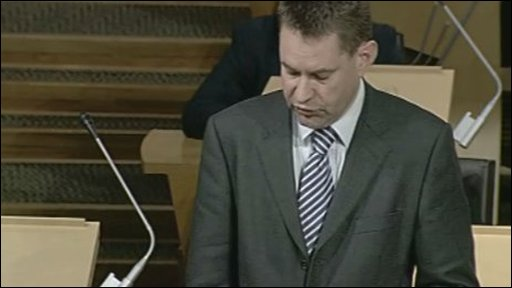 Conservative MSP Murdo Fraser led the debate on broadband for rural areas