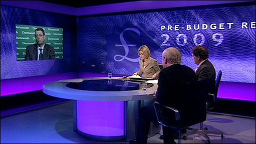 Pre-Budget report discussion panel