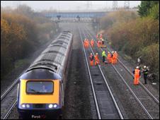 Railworkers after quadbike crash