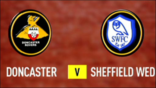 Doncaster 1-0 Sheffield Wednesday