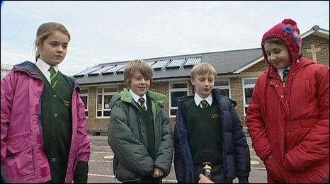 Schoolchildren (BBC)