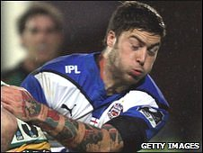 Bath winger Matt Banahan