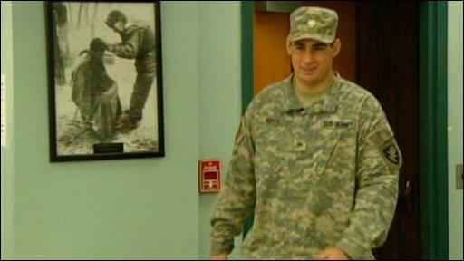 Anees Merzi: - US army cadet