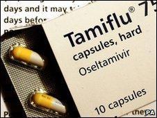 Tamiflu - file image