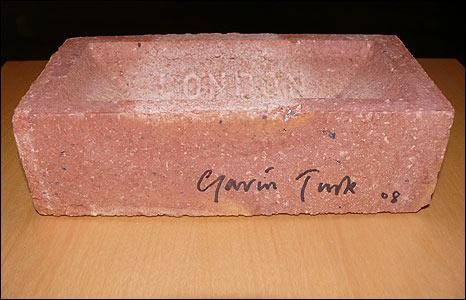 Gavin Turk's Revolting Brick