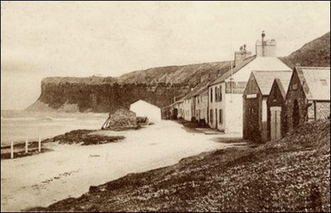 Old Saltburn, 1904.