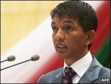 Andry Rajoelina, file image