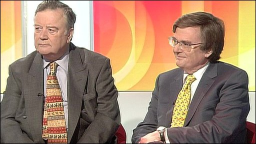 Ken Clarke and Matthew Oaskeshott