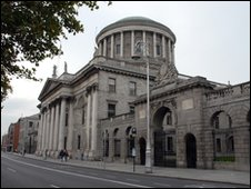 Supreme Court, Dublin, where an Irish sperm donor was granted access to his son being raised by a lesbian couple