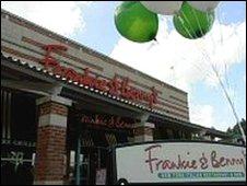 Frankie and Benny's restaurant, Leeds