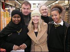 School Reporters at Battersea Park School, Wandsworth, London