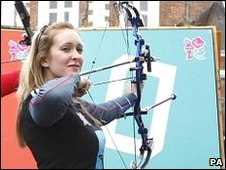 Paralympic archer Danielle Brown