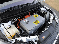 Electric motor that powers the Ford Focus