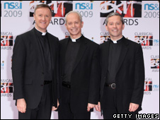 The Priests at the Classical Brits