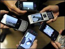 Five phones