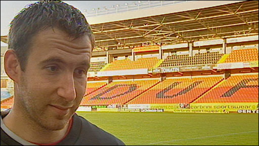Dundee Utd keeper Dusan Pernis