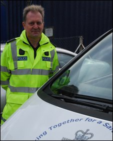 Pc Roy Ward, Road crash investigator