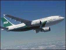 Pakistan International Airlines jet