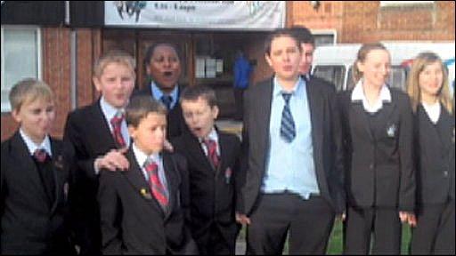 Northfleet Technology College and St John's Catholic Comprehensive School in Gravesend, Kent