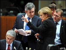 EU leaders in Brussels, 11 Dec
