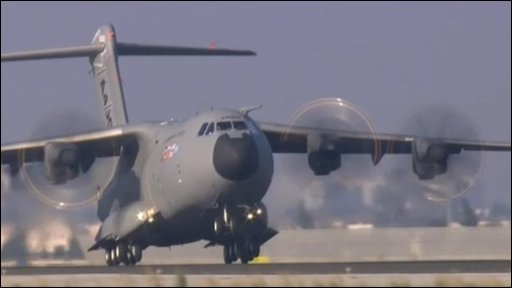 A400M maiden take-off