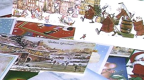 Bbc christmas card history celebrated for Who commissioned the first christmas card in 1843