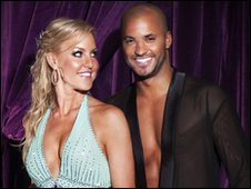 Natalie Lowe and Ricky Whittle