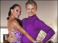 Jade Johnson and Ian Waite