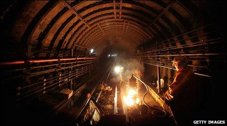 Underground engineering work