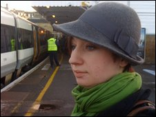 Laura Cloke at Maidstone station