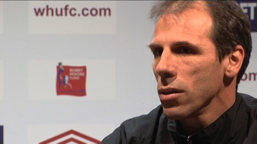 Gianfranco Zola talks about former West Ham and England striker Dean Ashton