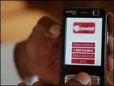 Ushahidi on mobile