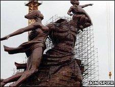 African Renaissance statue
