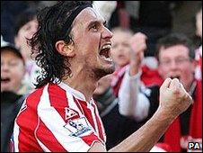 Tuncay equalised for Stoke